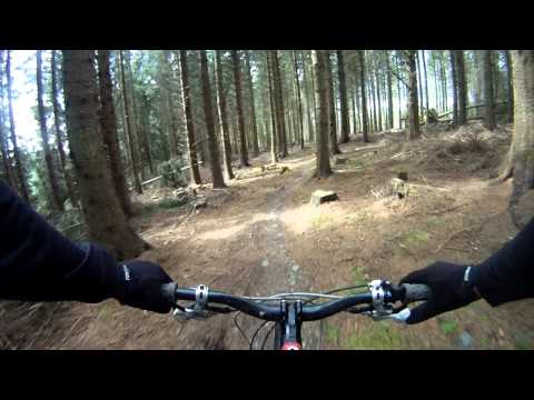 Glentress Black Route (Deliverance, Double X and The Bitch)