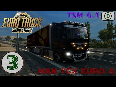 [Euro Truck Simulator 2] Episode n°3: On prend le ferry!