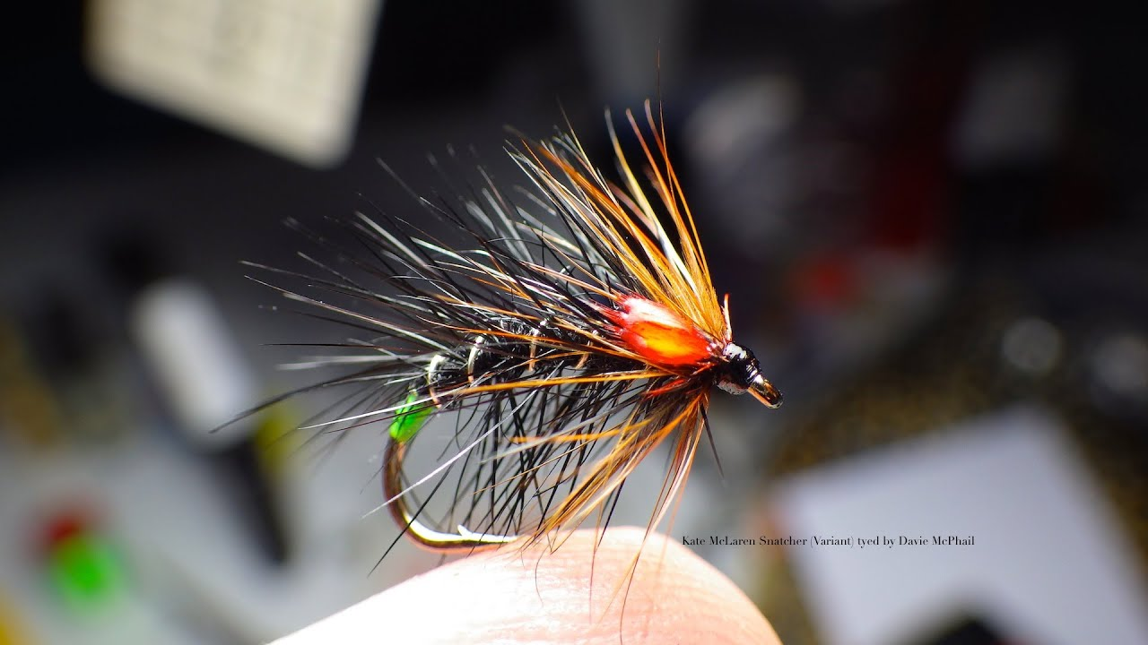Tying The Kate Mclaren Snatcher Variant By Davie Mcphail
