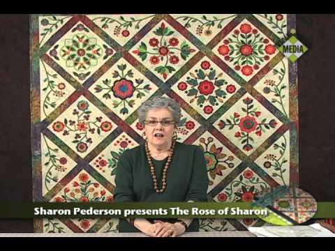 Sharon Pederson presents Rose of Sharon - YouTube : rose of sharon quilt - Adamdwight.com