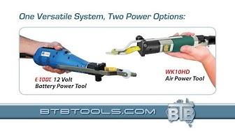 BTB Tools - (English) BTB Air & Battery Powered Windshield Removal Tool
