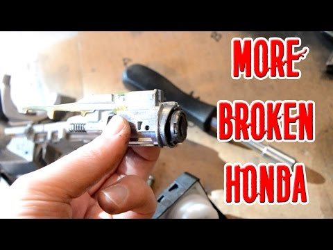 Honda Fix 3 - Broken Ignition & Stuck Key