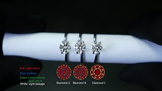 Repeat youtube video Why do these 3 diamonds look so different?