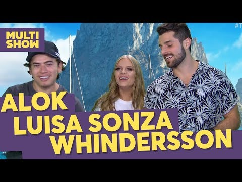 Atura ou Surta?  Whindersson + Alok + Luísa Sonza  TVZ Verão Ibiza