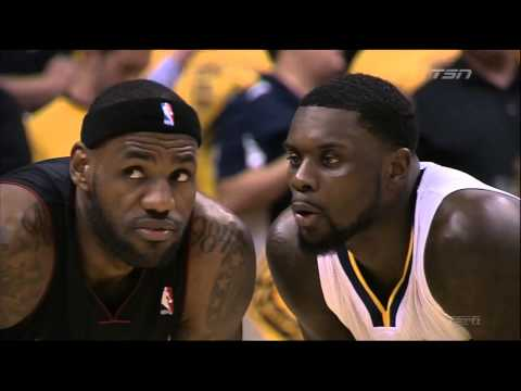 Lance Stephenson blows in LeBron