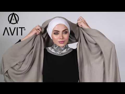 لفات حجاب تركية من AVIT HIJAB لفة رقم (1)