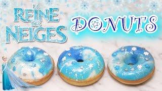 RECETTE REINE DES NEIGES DONUTS - CARL IS COOKING