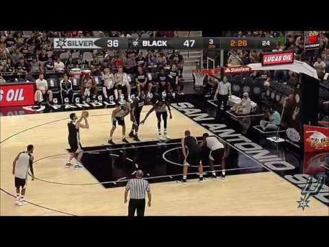 San Antonio Spurs Open Scrimmage 2016 2nd Half