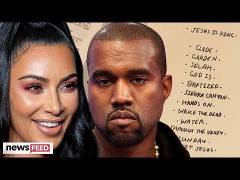 Kim Kardashian LEAKS Kanye West's Possible New Tracklist!
