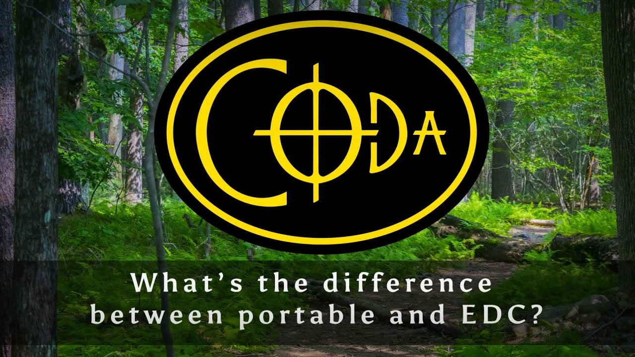 What's the difference between portable and EDC?