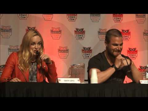 Caity Lotz Funny Moments