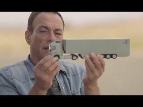 Jean-Claude Van Damme Teaser Volvo Splits Truck Funny Commercial 2013 Carjam TV HD JCVD 2014
