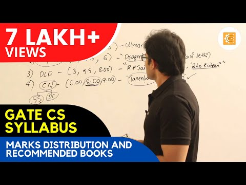GATE CS syllabus, marks distribution and recommended books from YouTube · Duration:  44 minutes 42 seconds