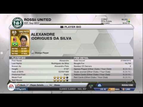 Fifa 13 Ultimate Team - BEAST Brazil Team