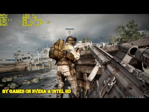 Medal of Honor Warfighter on Intel HD 530  