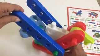 Gigo Junior Engineer Building Blocks for Kids Toy Unboxing