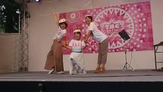 TBC東北放送、夏祭りで同局の女子アナ(粟津ちひろ、荒井美由紀、袴...