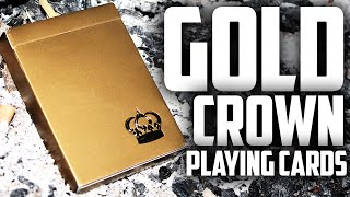 Deck Review - Gold Crown Playing Cards [HD]