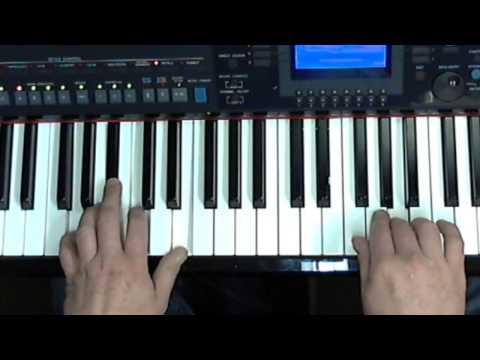 Als de klok van Arnemuiden (Havenzangers), Cover gespeeld op keyboard