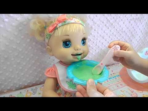 New Baby Alive Layla! Learns to Potty :