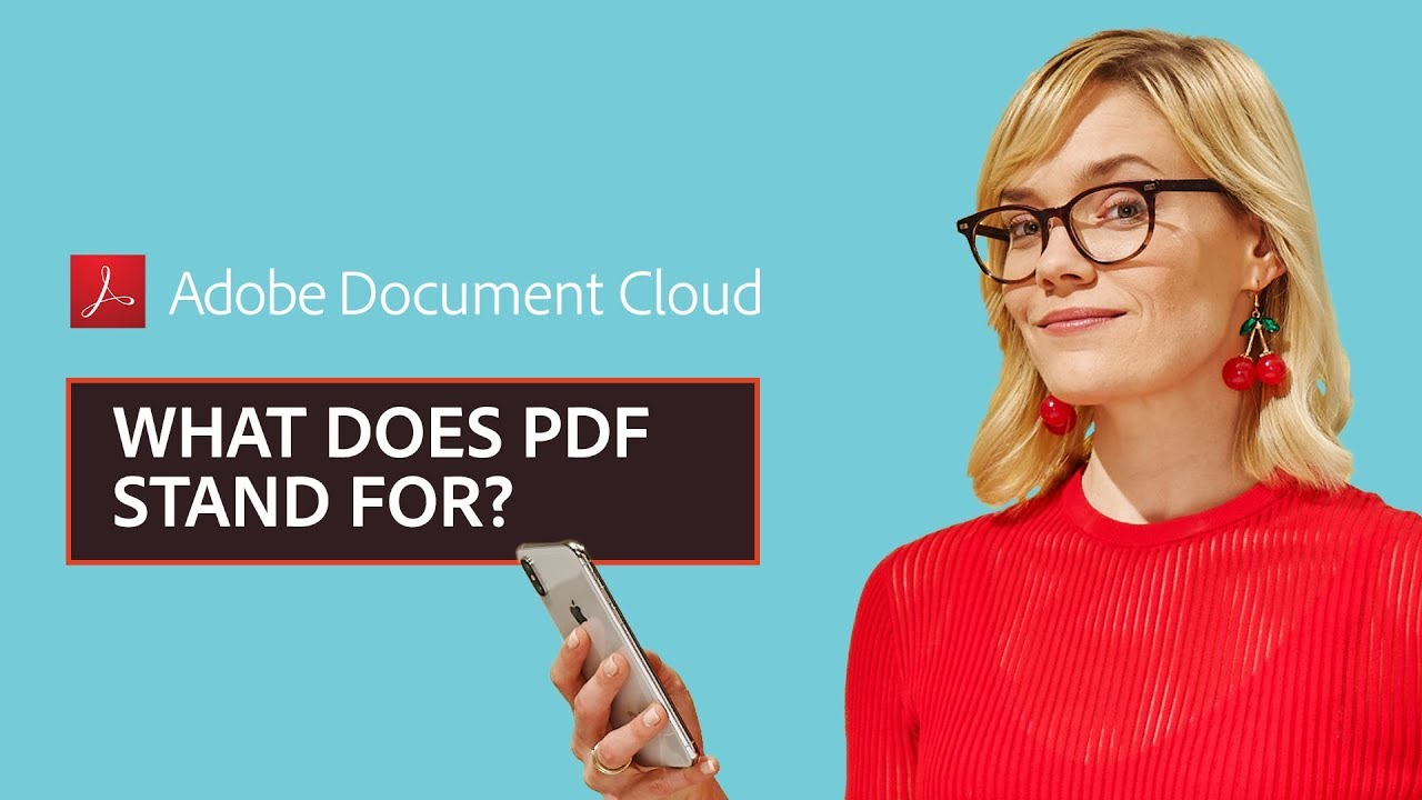 Well known What does PDF stand for? - YouTube UW94