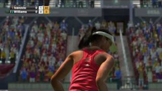 Virtua Tennis 2009 developer video and gameplay from SEGA