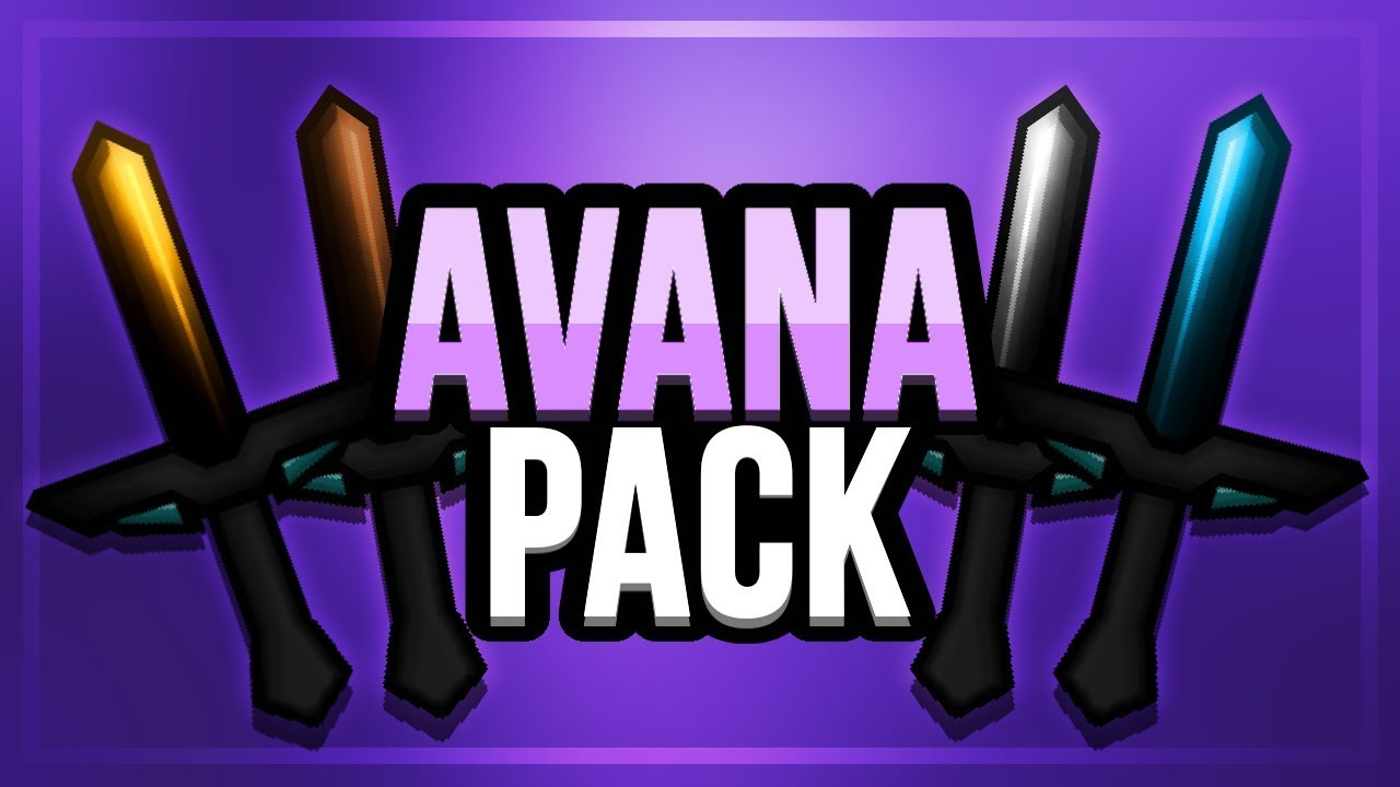 Avana PvP Texture Pack for Minecraft 122.122/122.12