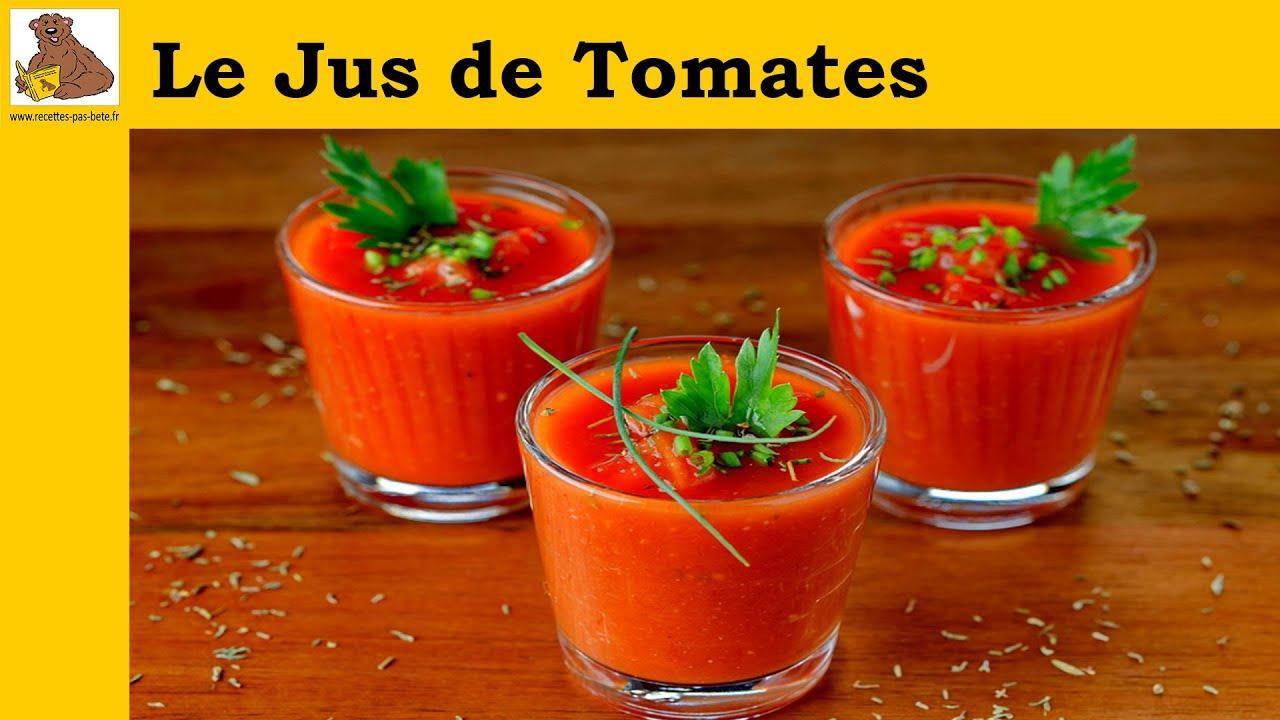 le jus de tomates recette rapide et facile youtube. Black Bedroom Furniture Sets. Home Design Ideas