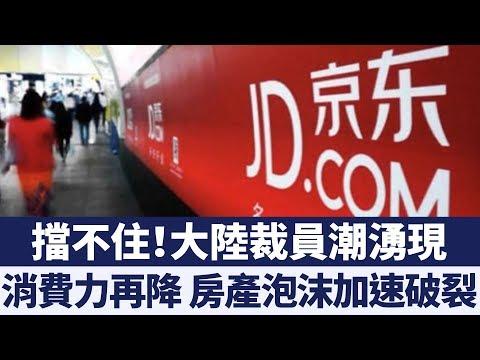 中國大陸裁員潮湧現 專家:消費力再降 房產泡沫破滅或提早到 新唐人亞太電視 20190321