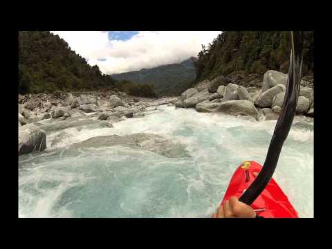 West coast kayaking New Zealand