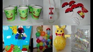 Dicas para uma festa infantil bonita e barata | Festa Pokémon