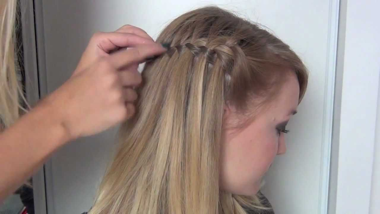 tutoriel coiffure tresse cascade youtube. Black Bedroom Furniture Sets. Home Design Ideas