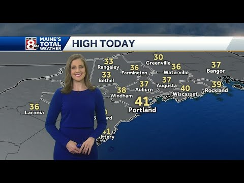 Not as cold today with a mild start to the weekend