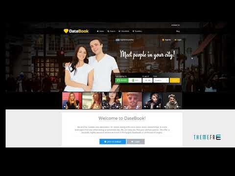 DateBook - Dating WordPress Theme        | Free Template  River Kenne