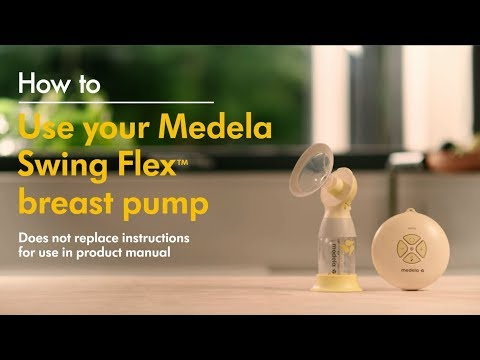 How To Use Medela S Swing Flex Single Electric Breast Pump Youtube