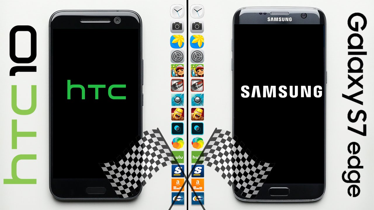 HTC 10 vs Galaxy S7 Edge Speed Test