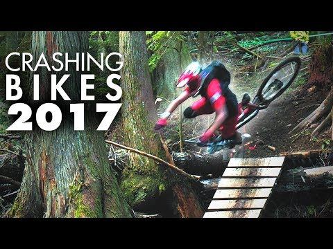 MY BEST MTB CRASHES | A year a riding, a year of crashes!