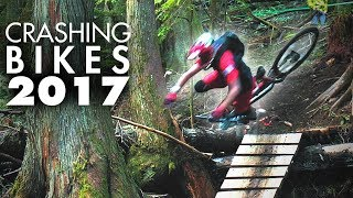 Video MY BEST MTB CRASHES | A year a riding, a year of crashes! download MP3, 3GP, MP4, WEBM, AVI, FLV November 2018