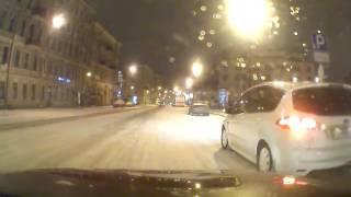 Притерлись Лиговский и Жукова 13.01.2017