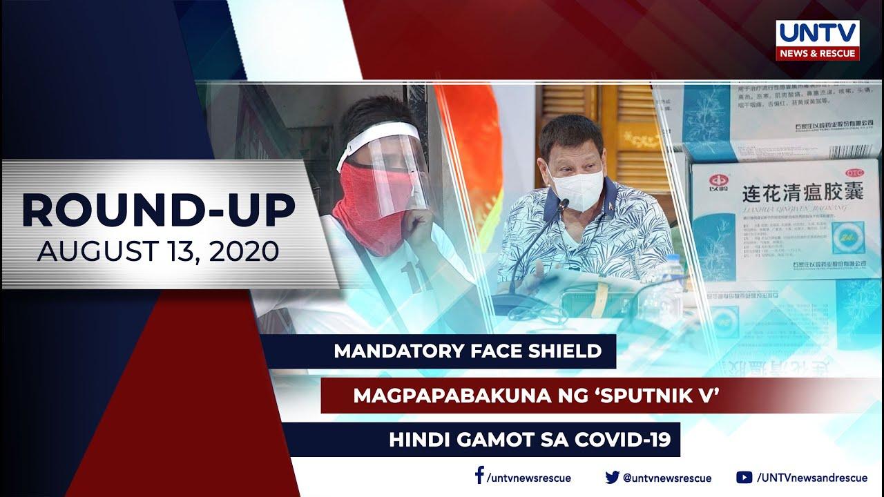 UNTV NEWS ROUNDUP: Mga balitang dapat mong malaman (August 13, 2020)