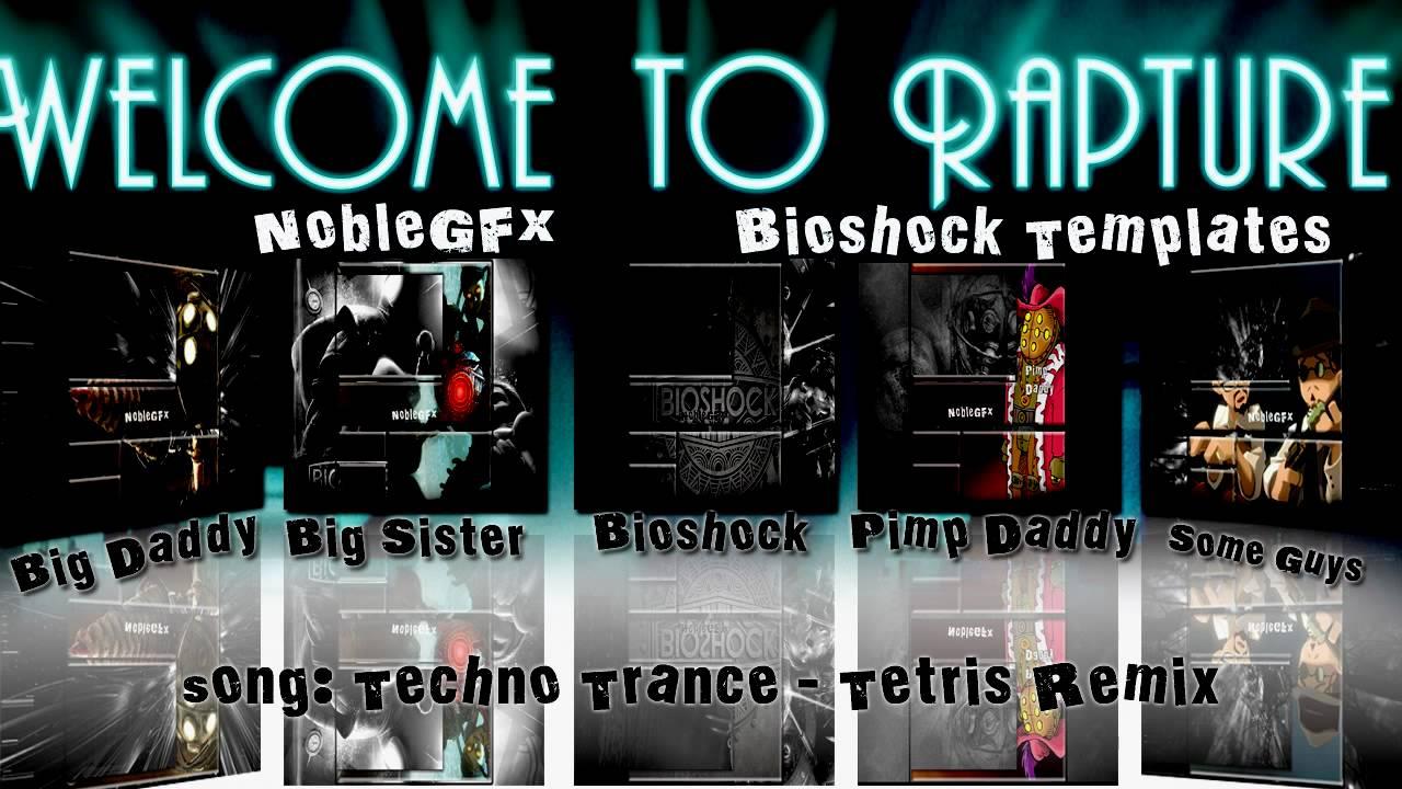 Noblegfx Bioshock Template Pack Youtube