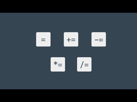 #30 할당 연산자 | 파이썬 강좌 코딩 기초 강의 Python | 김왼손의 왼손코딩