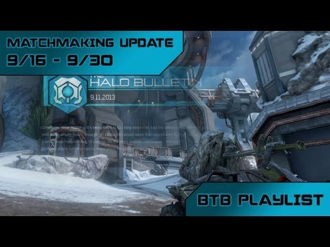 halo 4 matchmaking update july