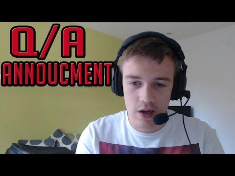 Q/A WITH GIRLFRIEND ANNOUNCEMENT
