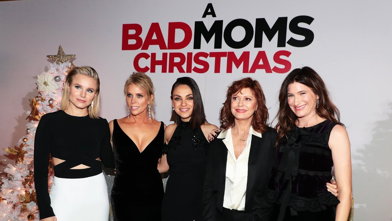 A Bad Moms Christmas Premiere Youtube