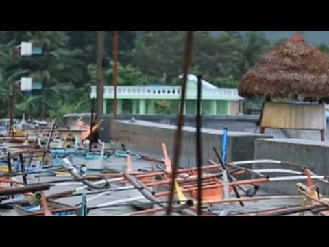 Typhoon Nock-Ten's aftermath in the Philippines