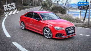 Audi RS3 (RS-SportsExhaust) - DRIVE & SOUND (60FPS)