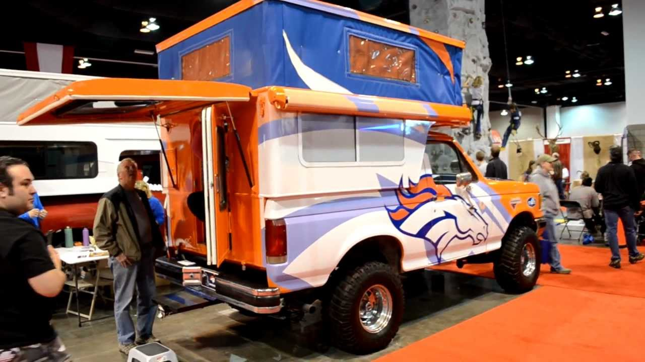 The Ultimate Denver Bronco Tailgating Truck  Ford Bronco