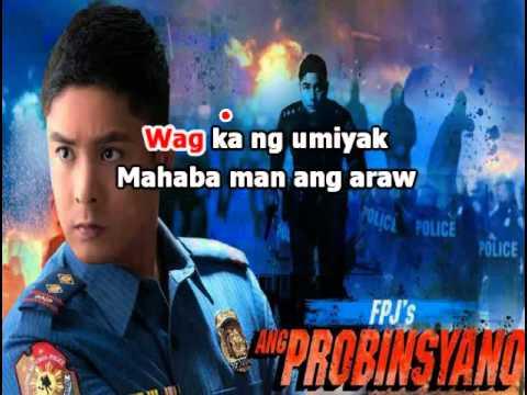 Wag Ka Nang Umiyak - Gary Valenciano - Lyrics / Karaoke (FPJ's Ang Probinsyano 2015 TV Series)