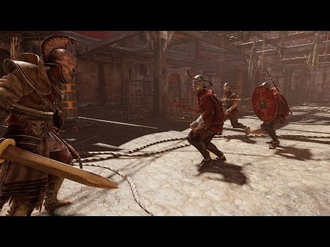 Assassin's Creed Origins Horde Mode Gameplay ON NIGHTMARE DIFFICULTY (AC Origins Horde Mode)